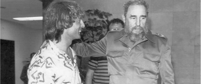 Visita a Fidel Castro