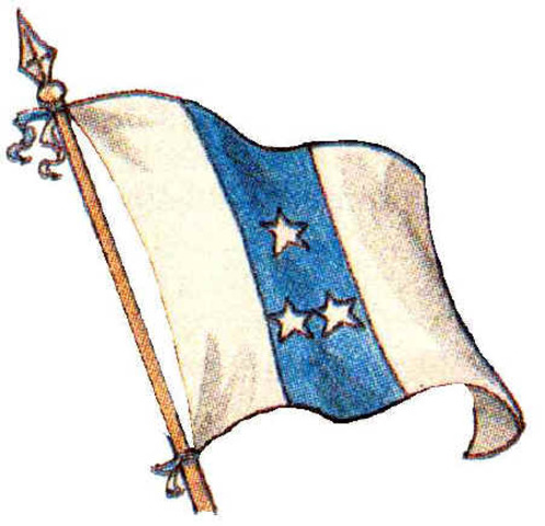 Bandera del 6 de Marzo 1845