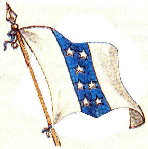 Bandera del 6 de Noviembre  1845