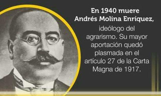 Andrés Molina.