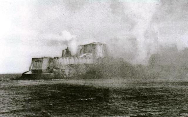 Bombardeo en San Juan