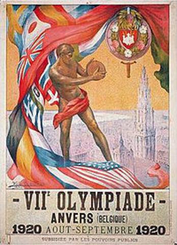1920, Amberes, Bélgica