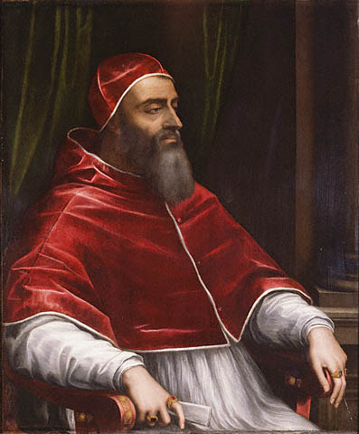 Pope Clement VII ascends to the throne