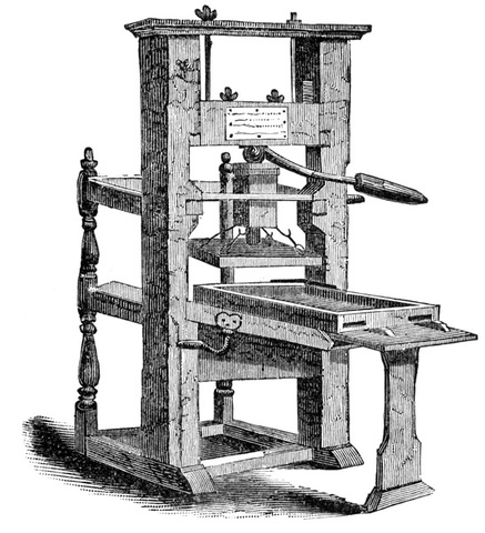 Creation of the Printing Press