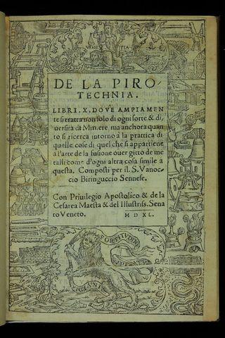 Vannocio Biringuccio (1480-1539)