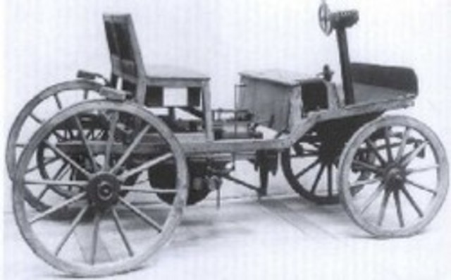 First Gas Engine Automobile