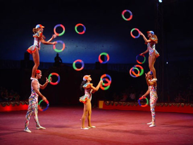 when I was five years,I used to work with my father in pereira in a circus, I wept a lot,I lived in an house rent