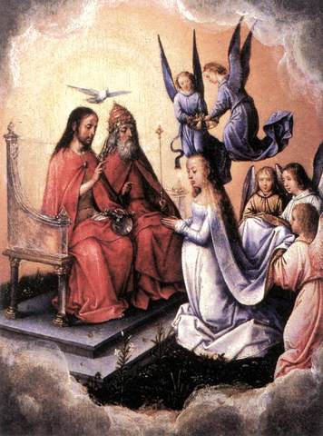 Michel Sittow-Maarja kroonimine