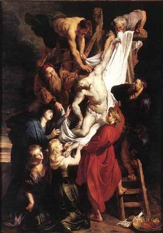 Peter Paul Rubens-Ristilt võtmine