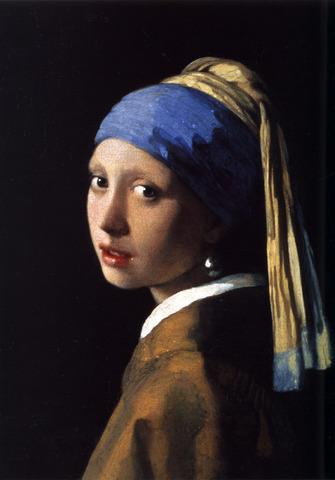 Jan Vermeer van Delft-Tüdruk pärliga