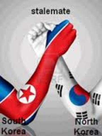 Korean War stalemate
