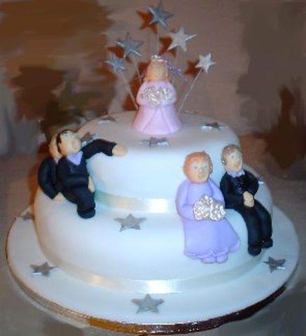Carolyn marries George A. Benson