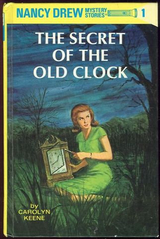 Nancy Drew #1 the secret of the old clock published