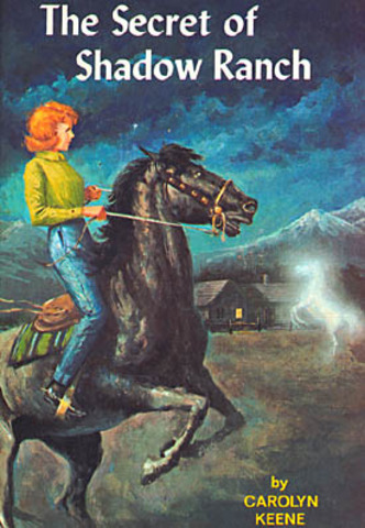 Nancy Drew #5 the secret of shadow ranch published
