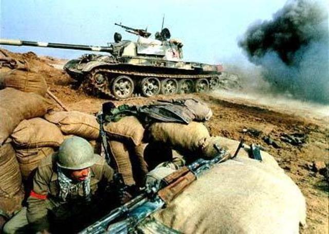 Beginning of Irag-Iran War