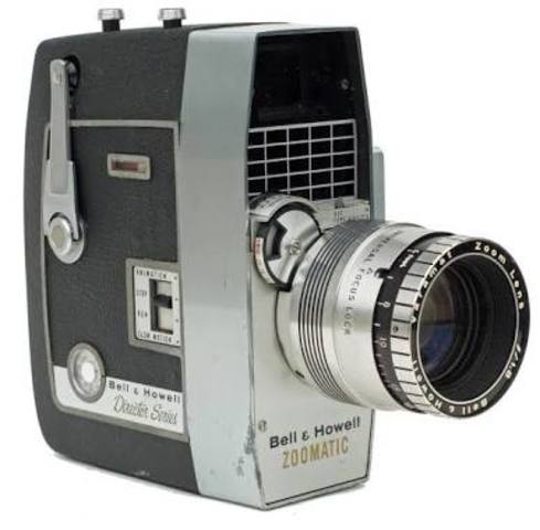 Se crea la primera cámara de video electrónica