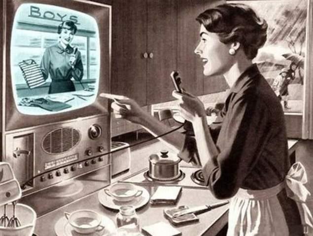 Se inventa la TV a control remoto