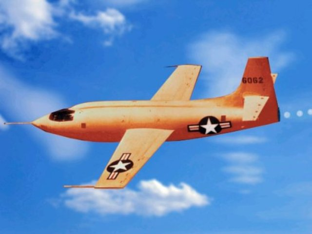 First Aircraft to Travel at the Speed of Sound