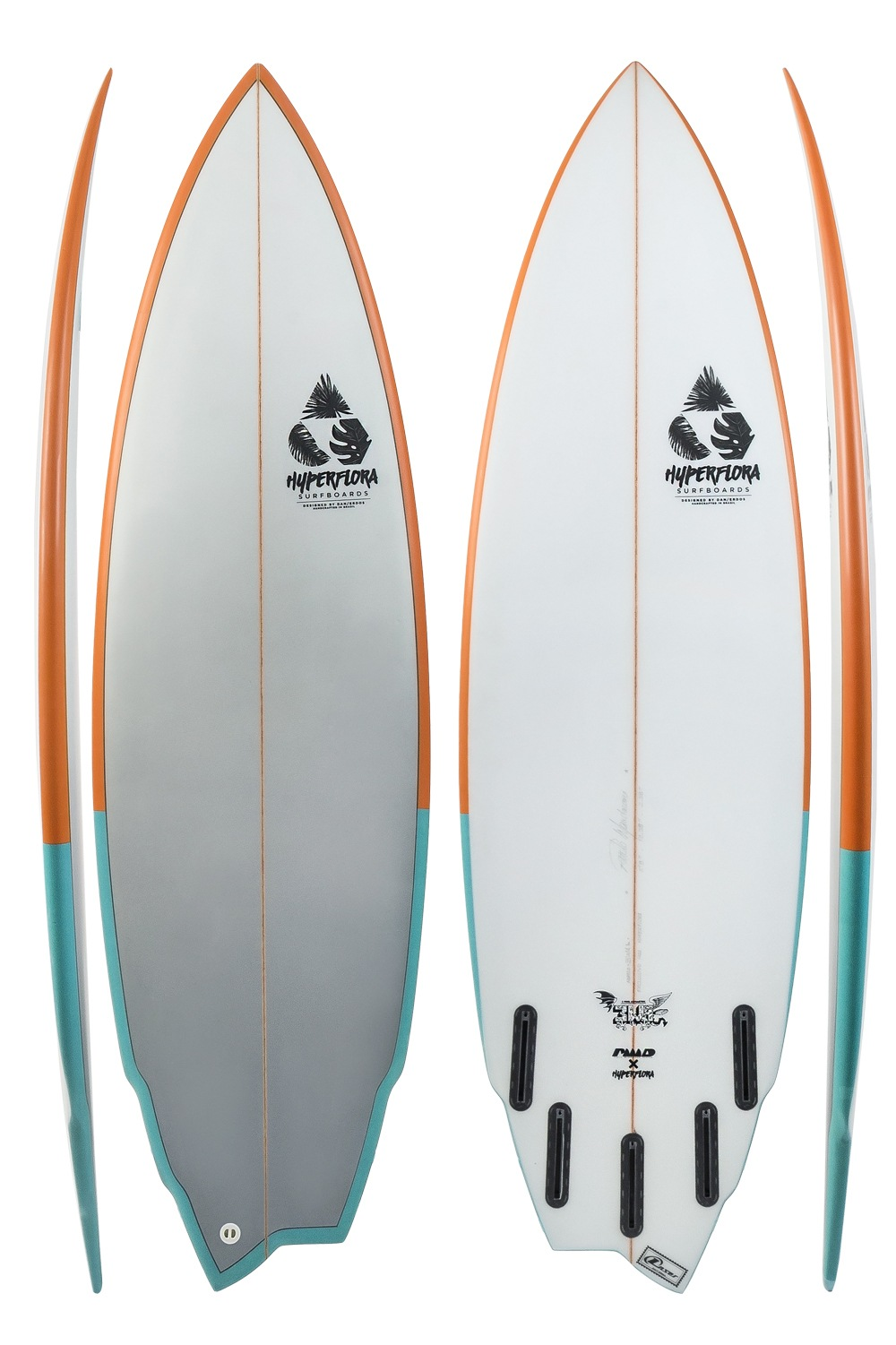 3WA - Assimétrica Goofy | Hyperflora Surfboards