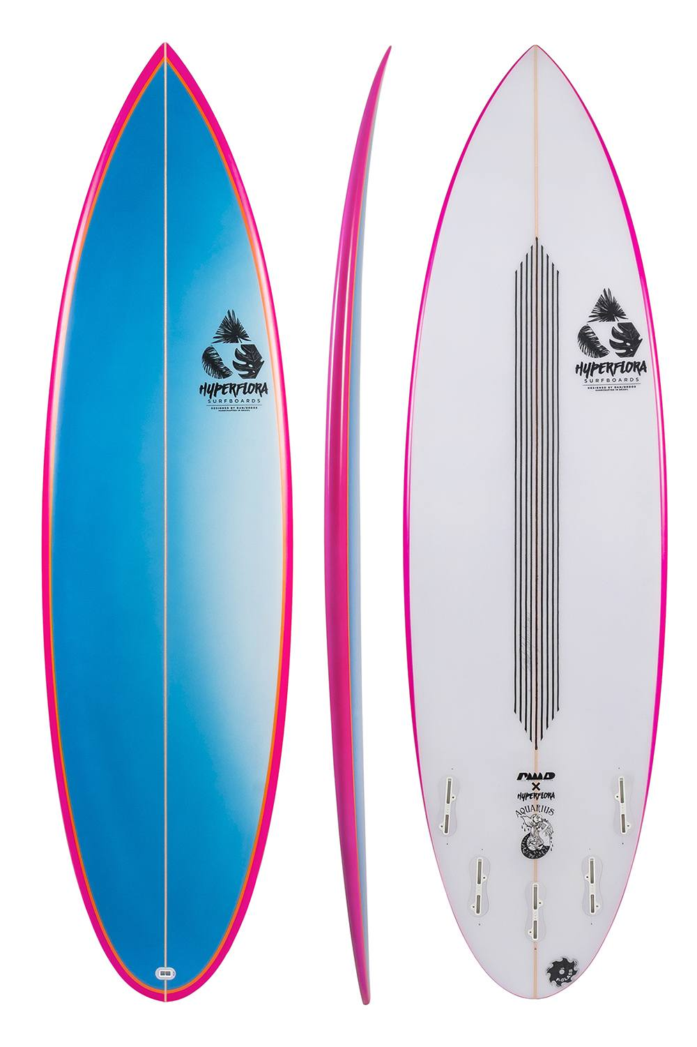 Aquarius Round | Hyperflora Surfboards