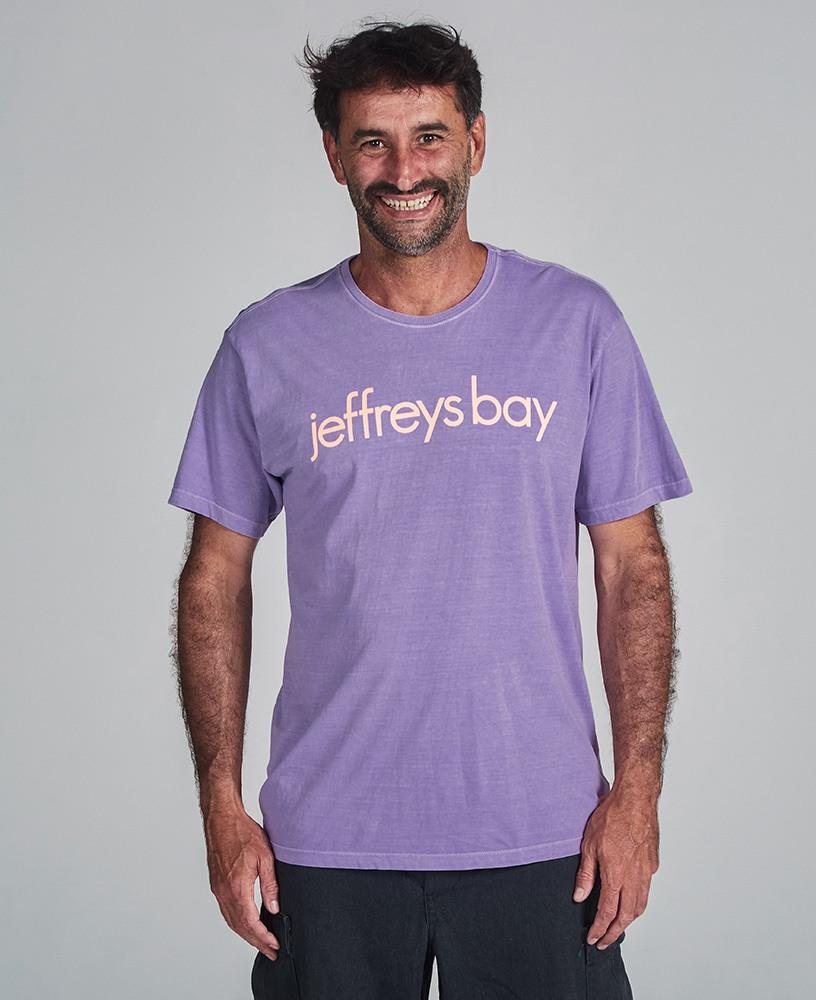 Camiseta Unissex Jeffrey's Bay - Lilás e Coral