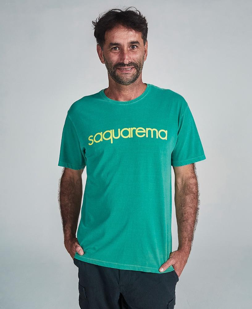 Camiseta Unissex Saquarema - Verde e Amarelo