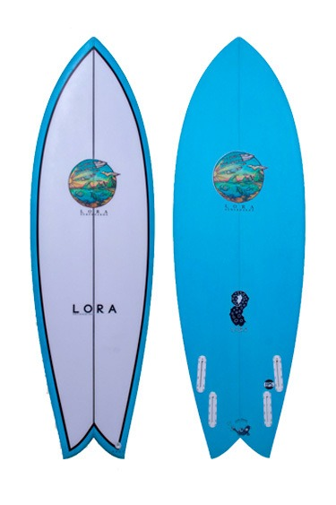 Fish Quad | Lora Surfboards