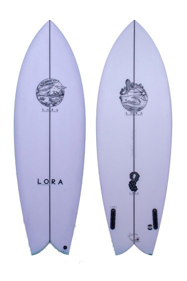 Fish Twin | Lora Surfboards