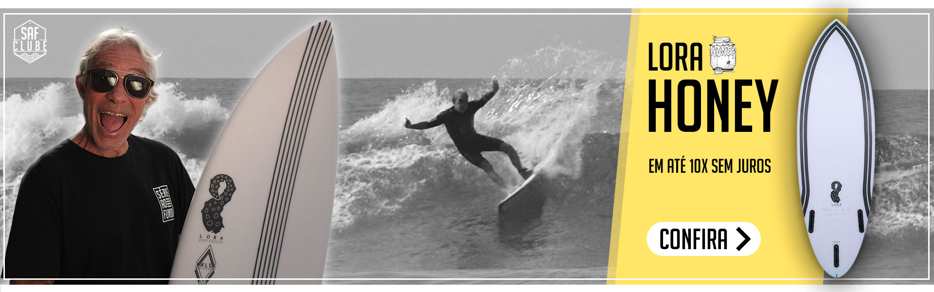 Prancha de Surf Honey Lora Surfboards