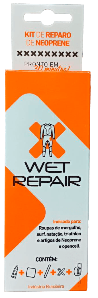 Kit Reparo para Wetsuit e Roupa de Borracha | Wet Repair