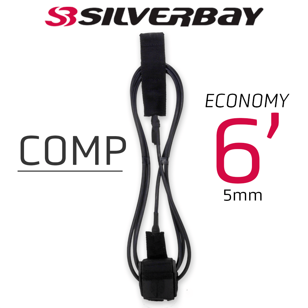 Leash Surf SILVERBAY ECONOMY COMP 6' 5mm