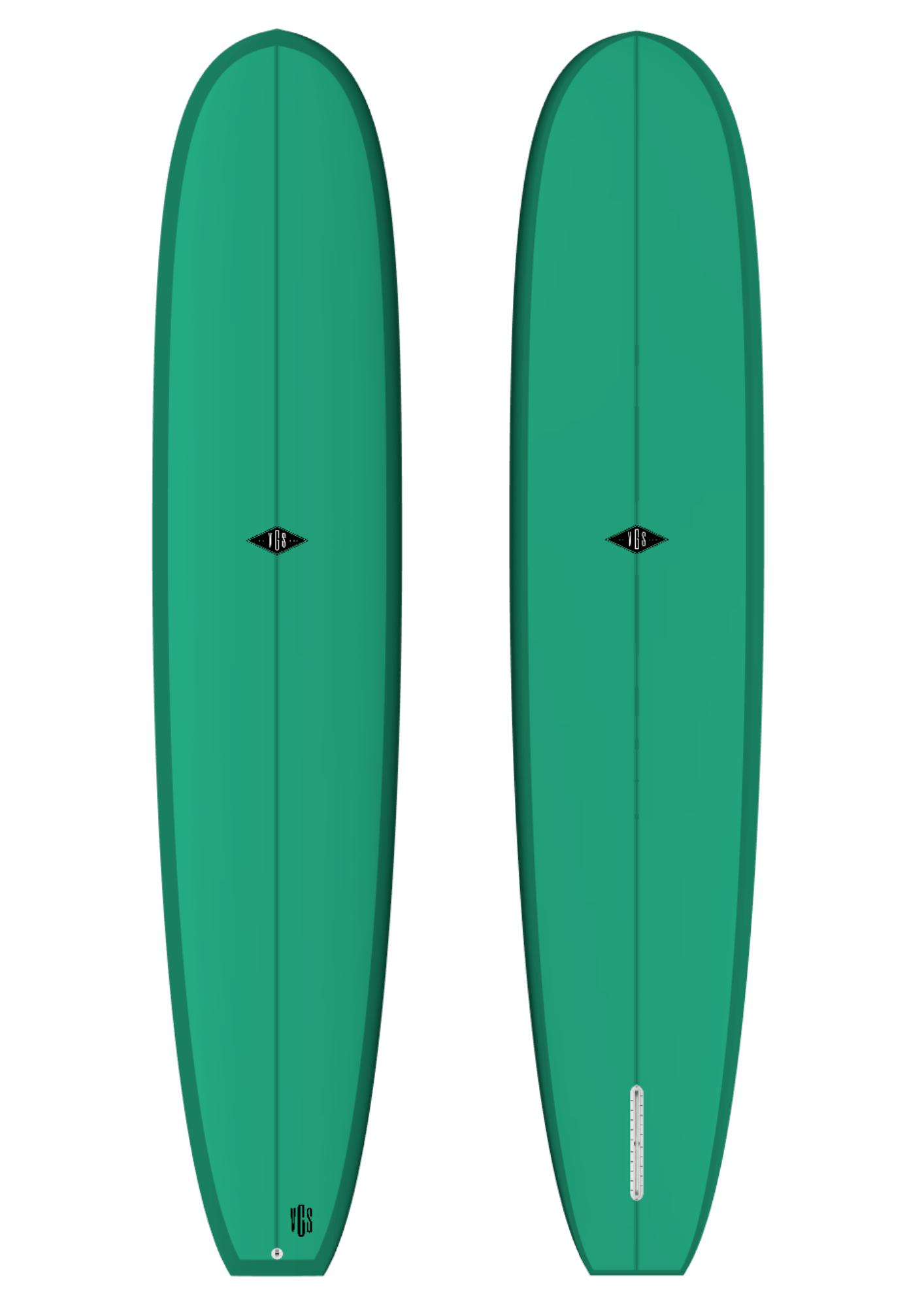 Longboard Log Egg | Vgs Custom Boards