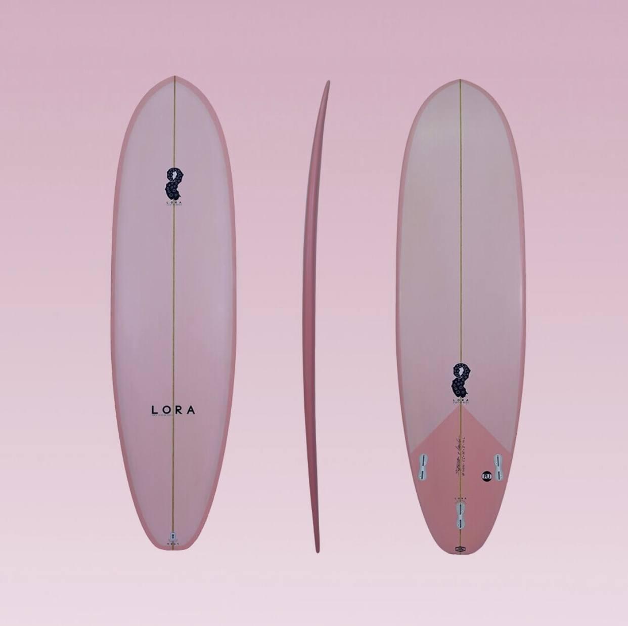 """Lora Custom Model - 6'6 x 20"""" x 3"""" 44L"""