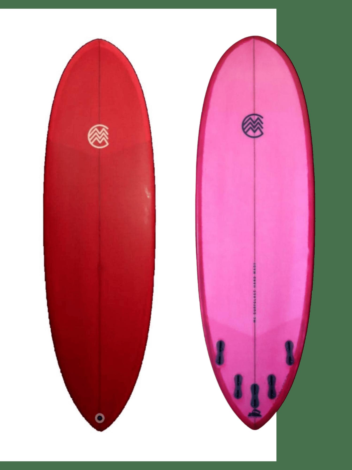 MC Surf Glass - Miniwhale 6'0 - Seminova