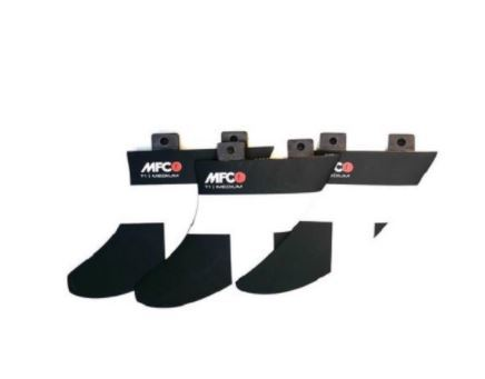 MFC FINS T1 MEDIUM THRUSTER TABS RTM ---CET