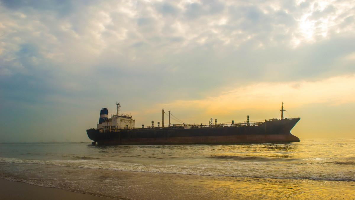 The Chennai Tanker Collision and Oil Spill Seen Via Satellite
