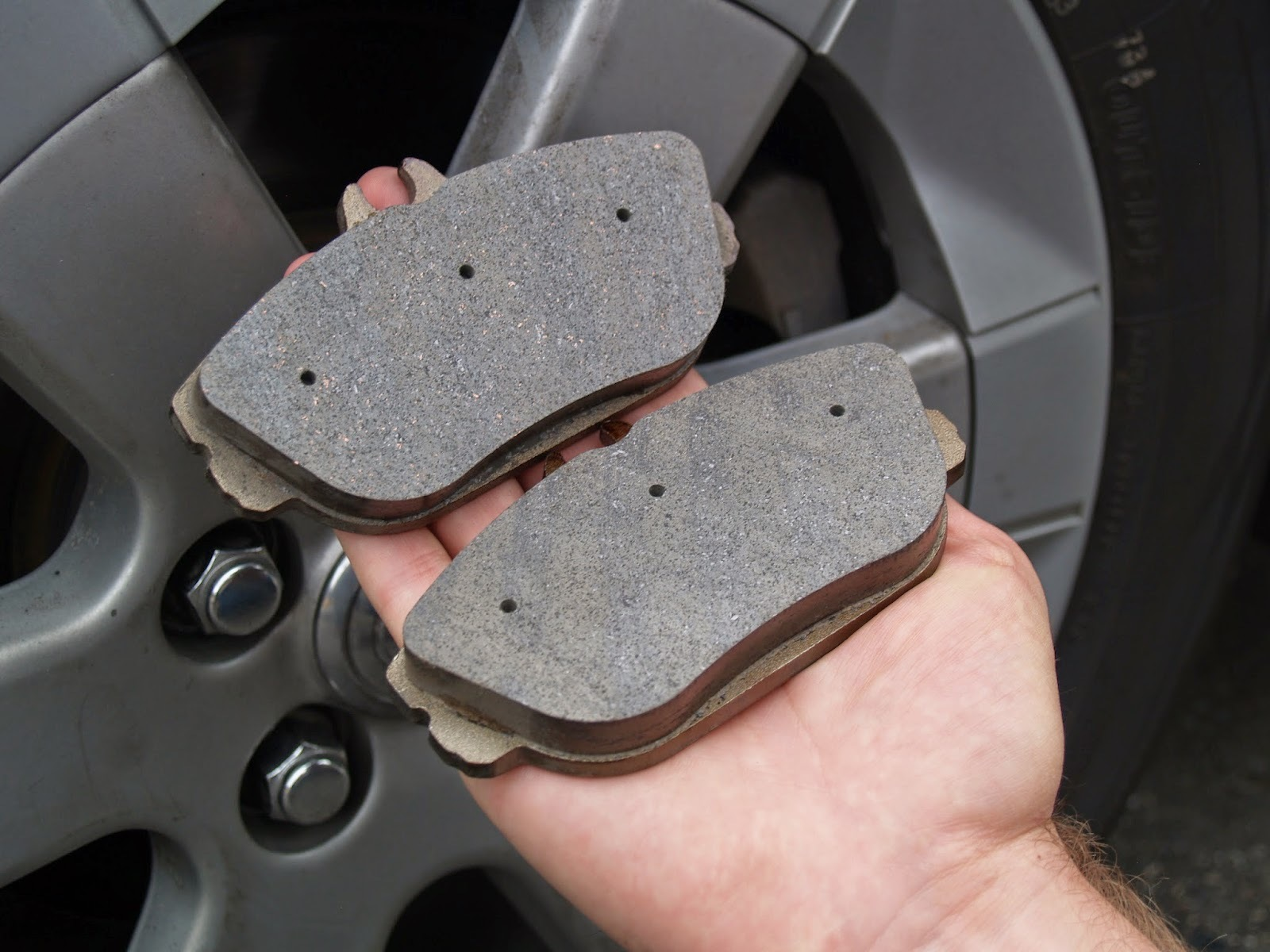 Common automotive break pads contain heavy metals, including copper, that are deposited onto the roadway every time we brake.