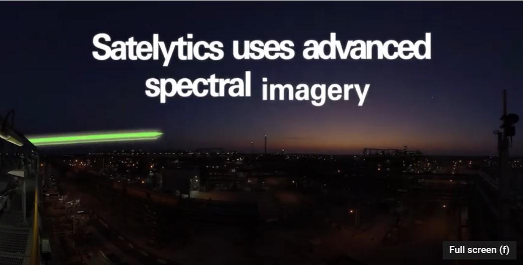 Satelytics: technology to monitor methane emissions.