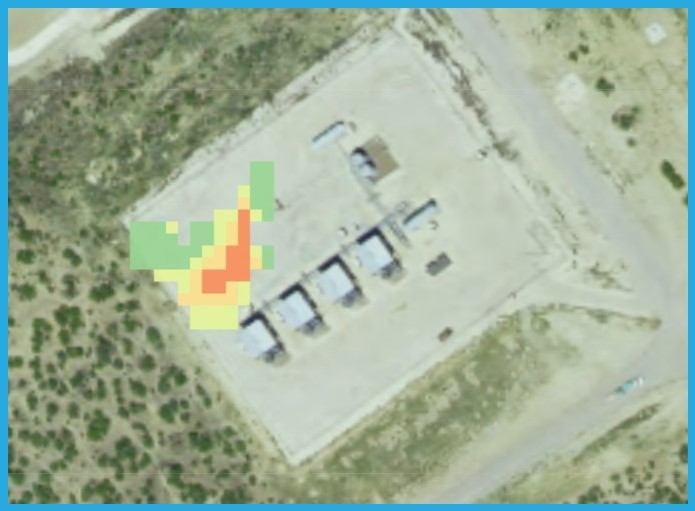 Methane emissions; identify point sources and audit your facility.