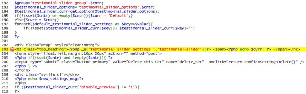 TrueCode output showing vulnerability code