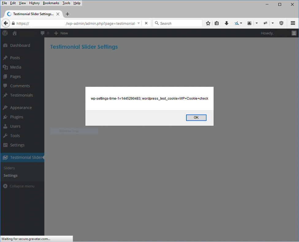 XSS vulnerability proof of concept