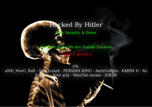 Hacked By Hitler