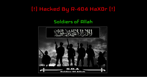Soldiers of Allah website defacement