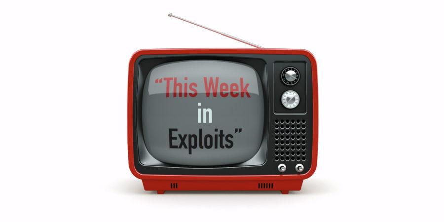 SiteLock | This Week in Exploits