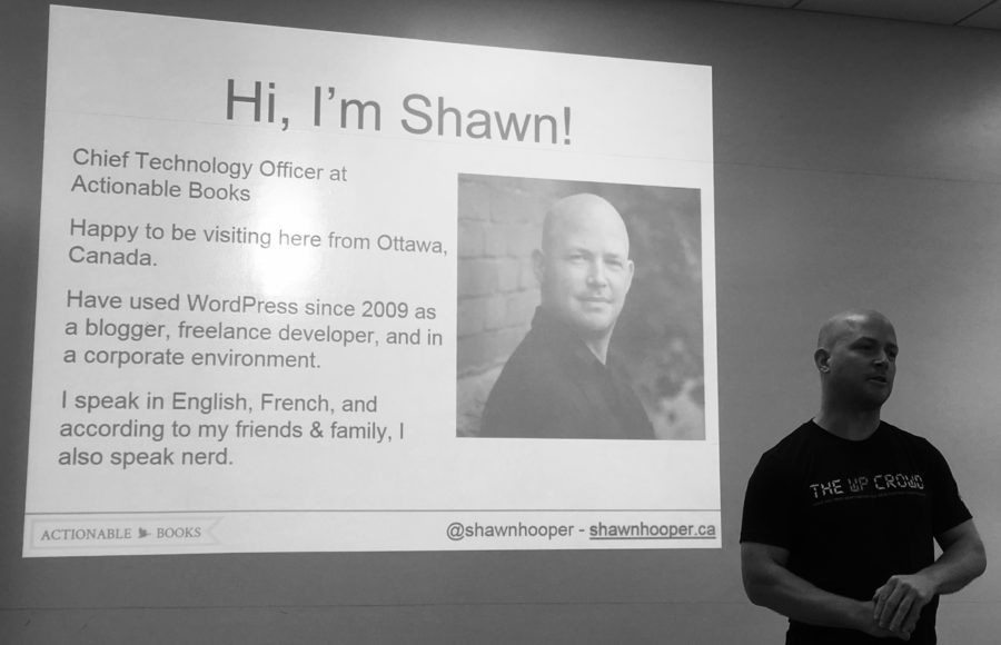 Shawn Hooper Multilingual WordPress Presenation