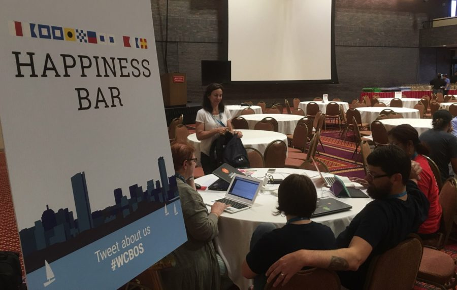 WordCamp Happiness Bar