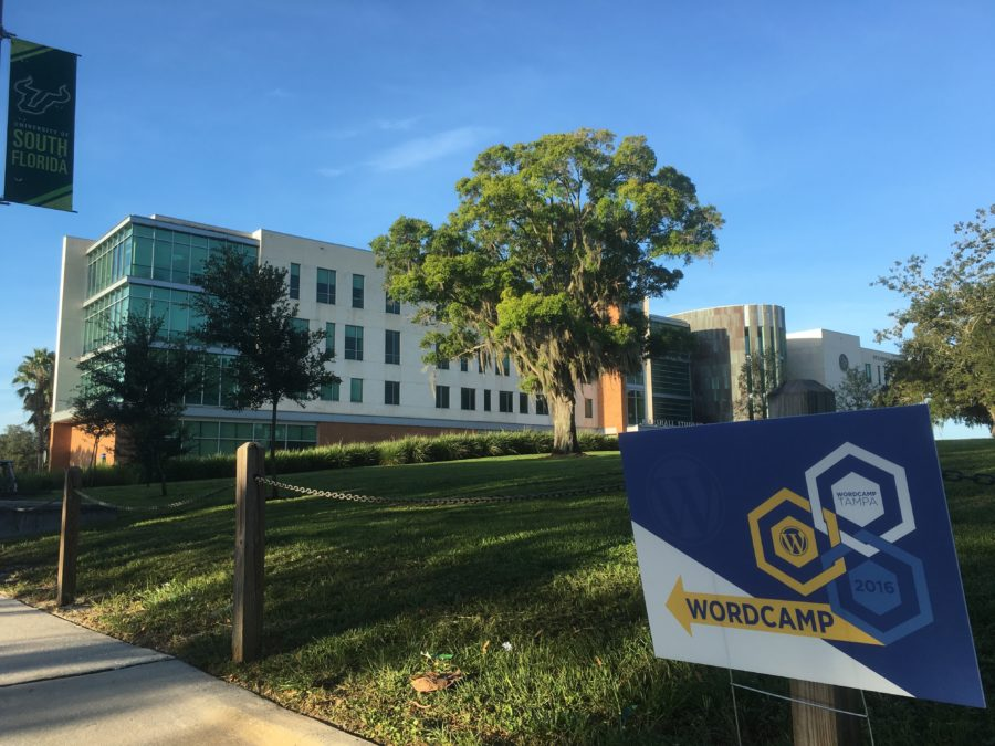 WordCamp Tampa 2016 - A beautiful location on the USF campus.