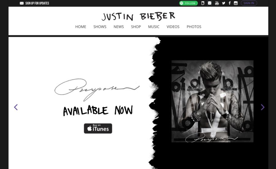 JustinBiberMusic.com