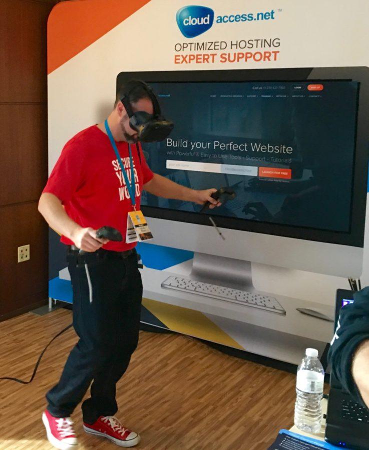 Cloudaccess virtual reality setup