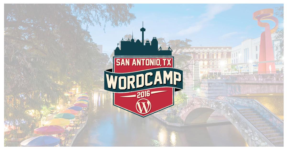 wordcamp san antonio 2016
